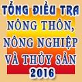 Tổng điều tra NTNN &TS 2016